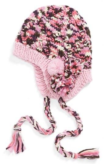 San Diego Hat Knit Trapper Hat (Girls)