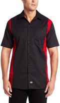 Dickies Men's Short Sleeve Two-Tone Work Shirt