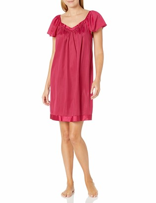 Exquisite Form Women's Plus Size Coloratura Short Nightgown