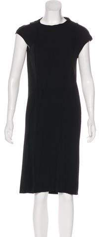 Maison Margiela Cap Sleeve Midi Dress