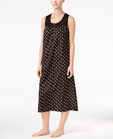 Charter Club Lace-Trim Long Nightgown, Only at Macy's