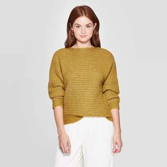 A New Day Women's Dolman Long Sleeve Crewneck Pullover Sweater