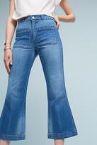 Amo Sailor Ultra High-Rise Cropped Flare Jeans