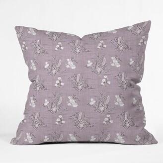 East Urban Home Holli Zollinger Boho Wild Indoor/Outdoor Throw Pillow