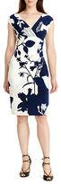 Lauren Ralph Lauren Petite Floral Surplice Dress