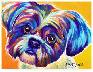 "Shih DawgArt Tzu Lacey Canvas Art - 36.5"" x 48"""