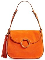 Tory Burch Leather Shoulder Bag - Orange