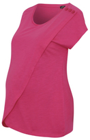 George Maternity Wrap Button T-shirt
