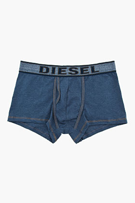Diesel Navy blue mock-denim UMBX-Divine Boxers