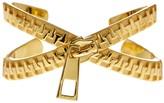 Botkier Zipper Crisscross Cuff