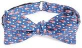 Vineyard Vines Men's 'Stars & Whales' Print Silk Bow Tie
