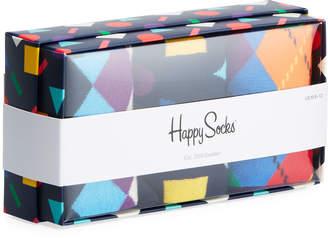 Happy Socks Men's Play Socks, Set of 3