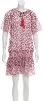 Rebecca Minkoff Short Sleeve Drop Waist Mini Dress w/ Tags