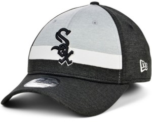 New Era Chicago White Sox Striped Shadow Tech 39THIRTY Cap