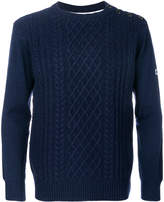 G Star G-Star contrast back sweater