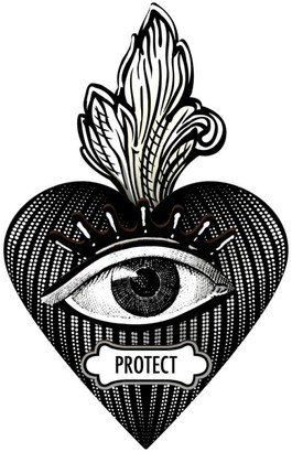 Miho Unexpected Things - Protect Decorative Heart