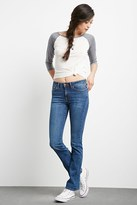Forever 21 Mid-Rise Flared Jeans