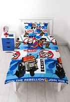 Disney Character world Star Wars Rebels Tag Single Rotary Duvet Set
