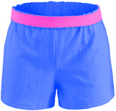 Soffe Electric Blue & Pink Original Camp Shorts - Girls