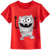 First Impressions Monster-Print Cotton T-Shirt, Baby Boys, Created for Macy's