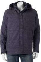 Izod Men's Softshell Hooded 3-in-1 Systems Jacket