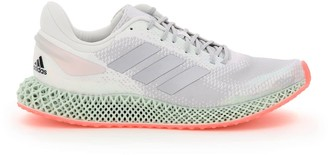 adidas 4D RUN 1.0 SNEAKERS 10 White, Green, Fuchsia Technical