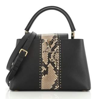 Louis Vuitton Capucines Black Exotic leathers Handbags