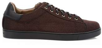 Gianvito Rossi Low-Top Woven Sneakers