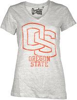 Oregon Royce Apparel Inc Women's Short-Sleeve State Beavers V-Neck T-Shirt