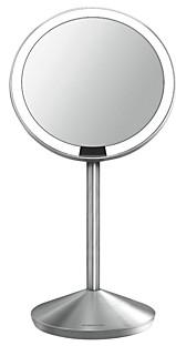 Simplehuman Mini Sensor Makeup Mirror with Travel Case, 5, 10x Magnification