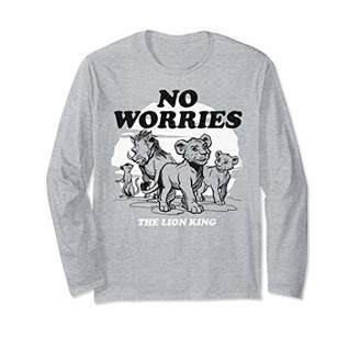 Disney The Lion King Live Action No Worries Group Shot Long Sleeve T-Shirt