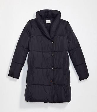 LOFT Petite Puffer Coat