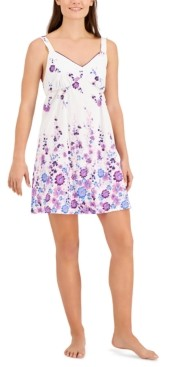 Charter Club Printed Chemise Nightgown, Created for Macy's