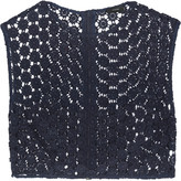 Joseph Fabio cropped guipure lace top