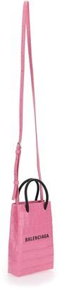 Balenciaga Phone Holder Shopping Bag