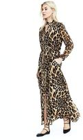 Banana Republic Leopard Maxi Dress