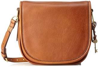 Fossil Rumi, Women's Cross-Body Bag, Braun (Saddle), 7.32x23.18x26 2/3 cm (B x H T)