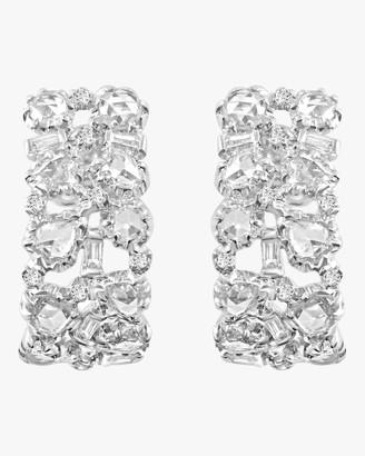 Morgan Ashley Celestial Rose Cut Diamond Earrings
