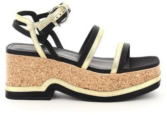 Salvatore Ferragamo Mysen Platform Sandals