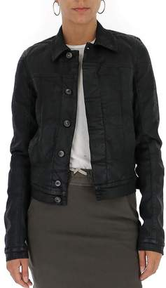Rick Owens Fitted Cropped Jacket