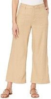 Thumbnail for your product : NYDJ High-Waisted Wide Leg Ankle Pants in Stretch Linen Twill