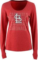 '47 Women's St. Louis Cardinals Forward Long-Sleeve T-Shirt