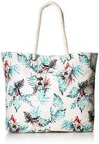 Roxy Printed Tropical Vibe Tote Beach Bag