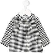 Tartine et Chocolat checkered buttoned blouse