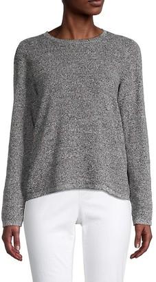 Eileen Fisher Silk Organic Linen Sweater