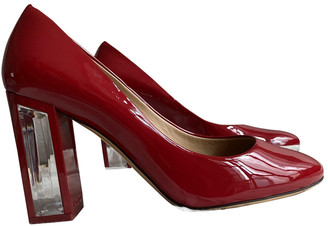 Salvatore Ferragamo Red Patent leather Heels