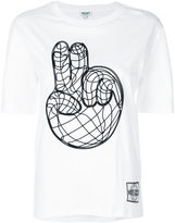 Kenzo Peace World T-shirt - women - Cotton - S