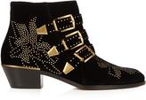 Chloé Susanna velvet ankle boots