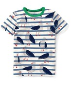 Boy's Mini Boden Stripe T-Shirt