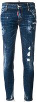DSQUARED2 Medium waist skinny jeans
